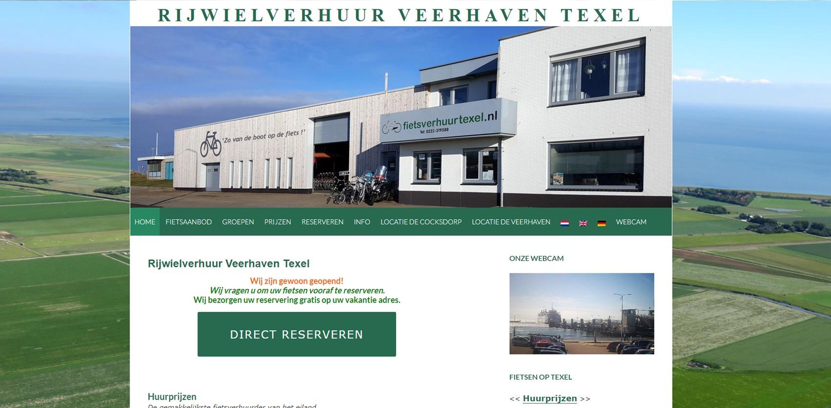 Fietsverhuur Veerhaven Texel