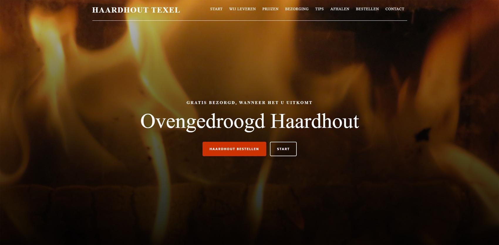 Haardhout Texel