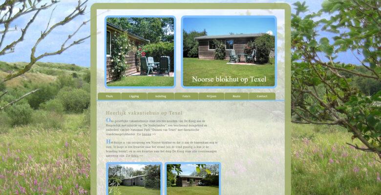 Vakantiehuisje op Texel