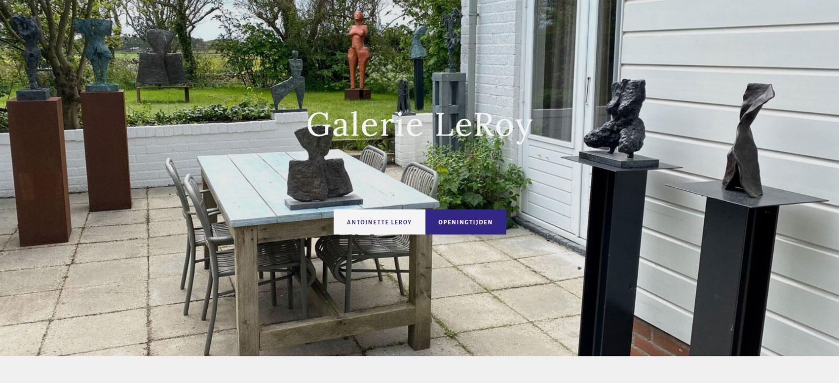 Galerie en Beeldentuin LeRoy